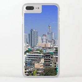 Bangkok Clear iPhone Case