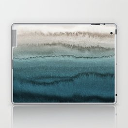 WITHIN THE TIDES - CRASHING WAVES TEAL Laptop & iPad Skin
