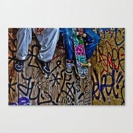 Ska8ter Boy Canvas Print