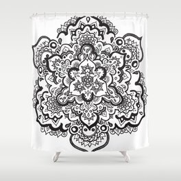 MAGIC MANDALA Shower Curtain