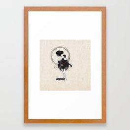 ///DANCE WITH ME/// Framed Art Print