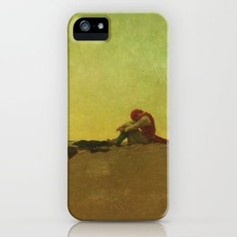 Howard Pyle's Marooned iPhone Case