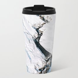 River in winter in Iceland - Landscape Photography Travel Mug