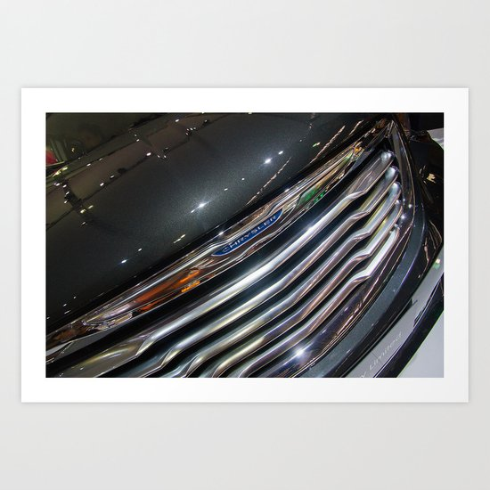 Chrysler Town & Country Limited Front Art Print