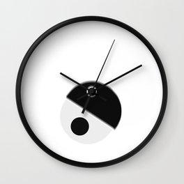 yin sane Wall Clock