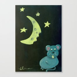 Chompers the mouse Canvas Print