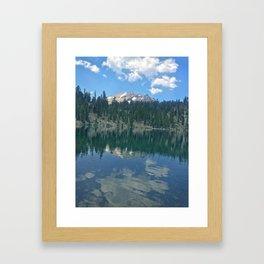 Lassen Volcanic Framed Art Print