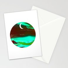 autumn night Stationery Cards