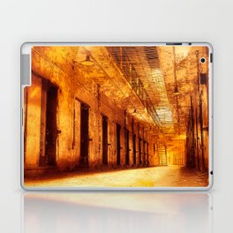 Infernal Prison Corridor Laptop & iPad Skin