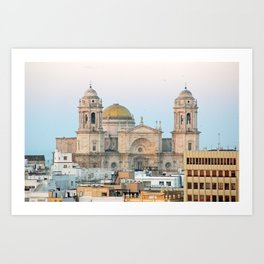 Cadiz Spain Art Print