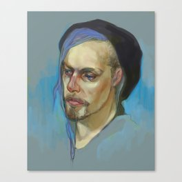 Black Hat II Canvas Print