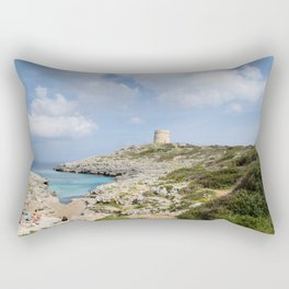 Alcaufar, Menorca. Rectangular Pillow
