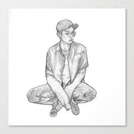 Chanyeol 27 Canvas Print