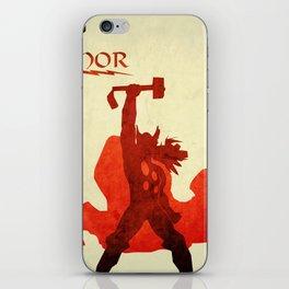 The Avengers Thor iPhone Skin