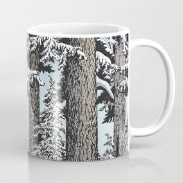 Snowed in the Douglas Fir Coffee Mug