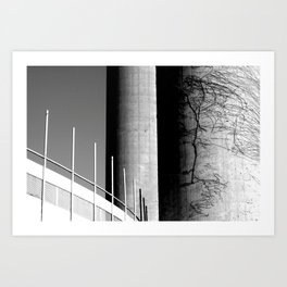 tower64tower Art Print
