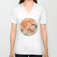 eternal sunshine of the spotless mind V-neck T-shirts featuring Eternal Sunshine of the Spotless Mind by reviandana