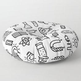 science symbols Floor Pillow