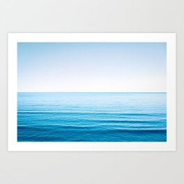 Soothing Sea Art Print