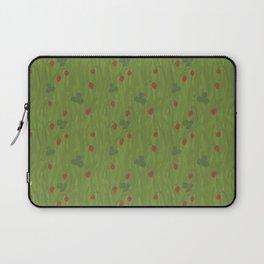 Wild Strawberry Fields Laptop Sleeve