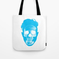 Hipster Head Tote Bag