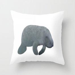 la sirène Throw Pillow