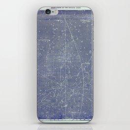 Antique Zodiac Constellation Milky Way Pegasus Print, 3 of 3 iPhone Skin