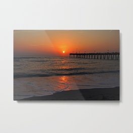 Secrets on the Sand Metal Print