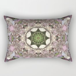 Magnolia Mandala Rectangular Pillow