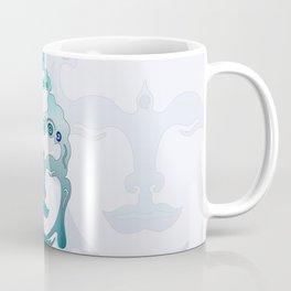Buddha Head turquoise I Coffee Mug