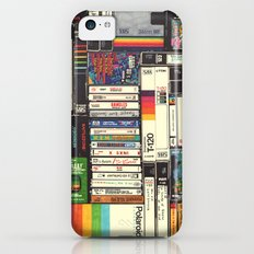 Cassettes, VHS & Atari iPhone 5c Slim Case