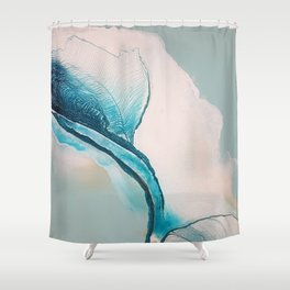 Afternoon Sky Shower Curtain