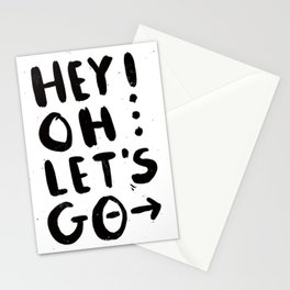 Hey! Oh... Stationery Cards