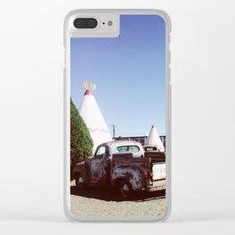 The Wigwam Motel, Arizona Clear iPhone Case