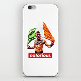 Conor McGregor the Notorious iPhone Skin