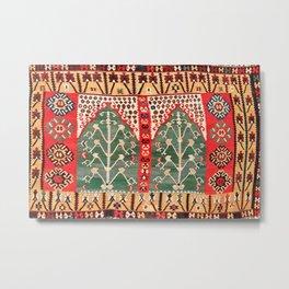 Saf Gümüshane Northeast Anatolian Kilim Print Metal Print