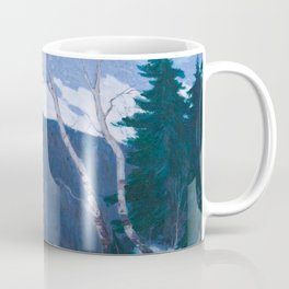 Clarence Gagnon - Winter Solitude - Canada, Canadian Oil Painting - Group of Seven Coffee Mug