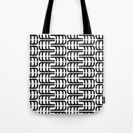 J Pattern Tote Bag