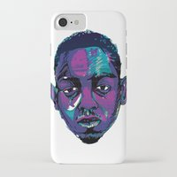 kendrick lamar iPhone & iPod Cases featuring Control - Kendrick Lamar by SmartyArt Chick