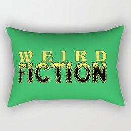 Weird Fiction Logo Rectangular Pillow