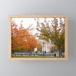 Fall in Washington Square Park, NYC 2 Framed Mini Art Print