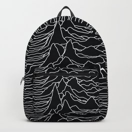 Unknown Radio Waves - Unknown Pleasures Backpack