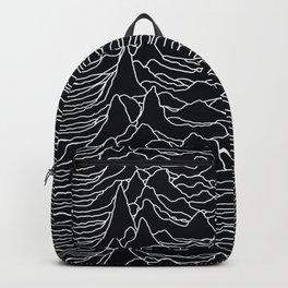 Unknown Radio Waves - Unknown Pleasures Backpack