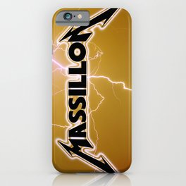 MASSILLON iPhone Case