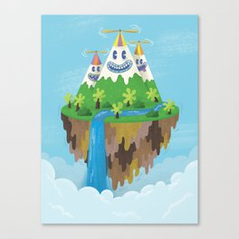 Flight of the Wild Canvas Print