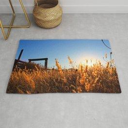 Autumn Wheat Grass Rug