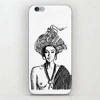goddess iPhone & iPod Skins featuring Goddess by Fen_A
