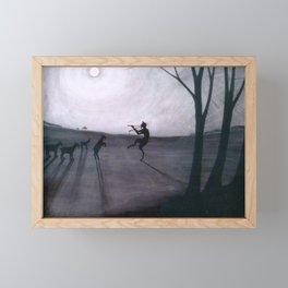 Léon Spilliaert - Faun by moonlight - Faun bij maneschijn Framed Mini Art Print