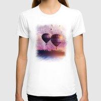 nan lawson T-shirts featuring  So Far so Close by Viviana Gonzalez