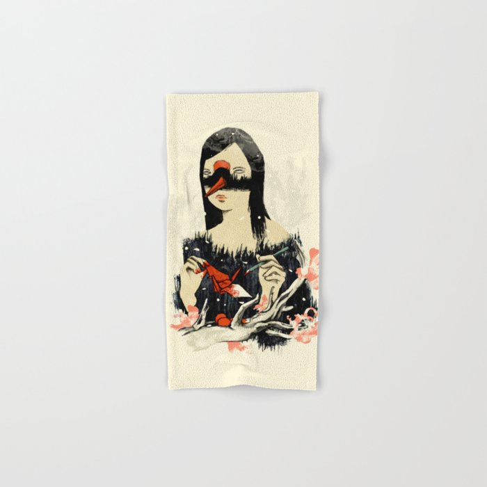 The Crane Wife Hand & Bath Towel